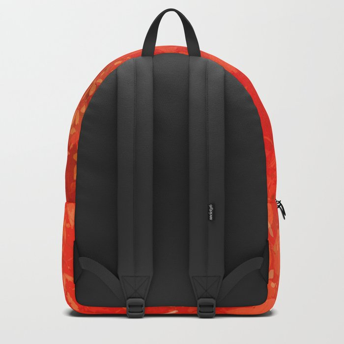 Beautiful red foliages - illustration of garden Backpack