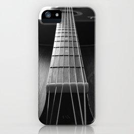 Guritar neck iPhone Case
