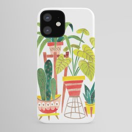 Happy Plants Happy Home iPhone Case