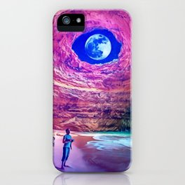Alone with Nature by GEN Z iPhone Case