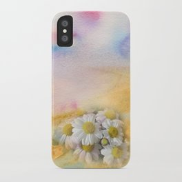 Window Curtains - Watercolour iPhone Case