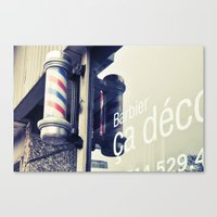 montreal Canvas Prints featuring Montreal by sylvianerobini