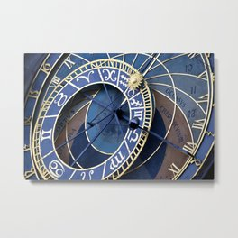 Clockin' Out Metal Print