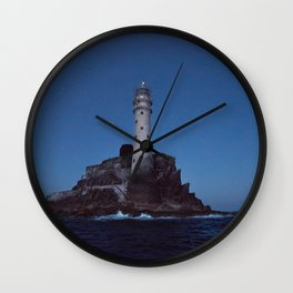 (RR 293) Fastnet Rock Lighthouse - Ireland Wall Clock