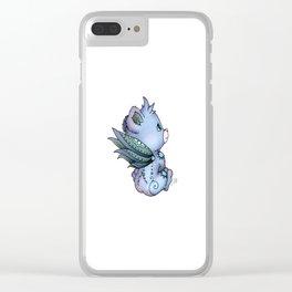Faerie Bear Clear iPhone Case