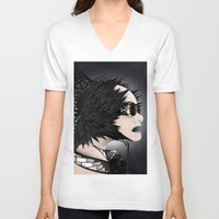 sci fi V-neck T-shirts featuring Sci-Fi Series 2 by eos vector