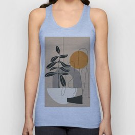 Abstract Shapes 04 Unisex Tank Top