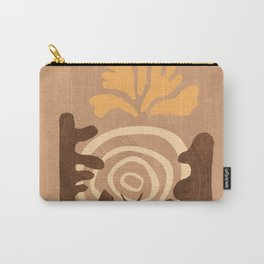American Desert Southwest Botanical Abstract Carry-All Pouch