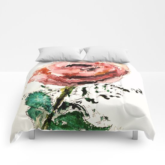 The first rose Comforters