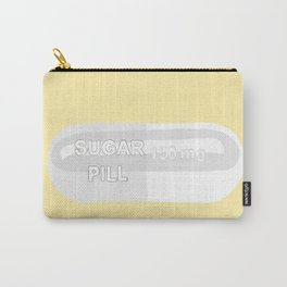 Sugar Pill Yellow Carry-All Pouch