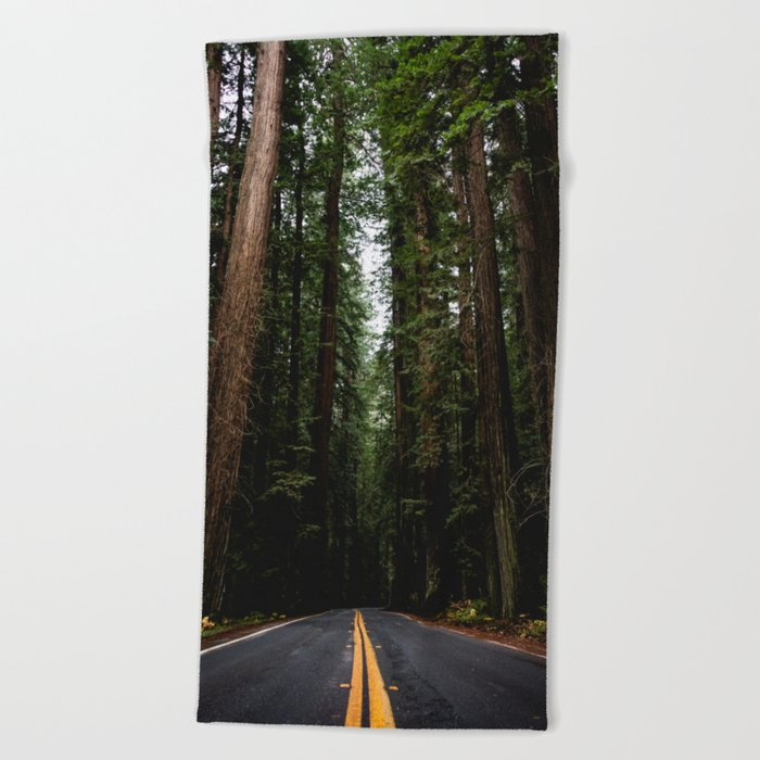 The Road to Wisdom - Nature Photography Beach Towel