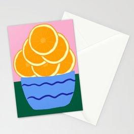 Oranges Stationery Cards