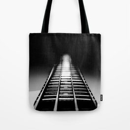 Bass Tracks Tote Bag