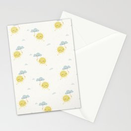 Little Sun white Stationery Cards