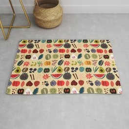 Fruit and Spice Rack Rug