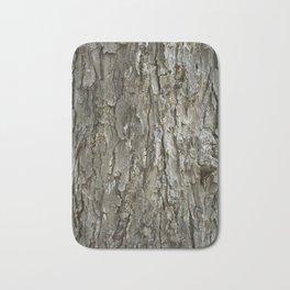 Tree Bark Texture Bath Mat
