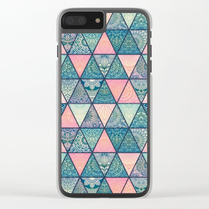 COOL PATTERN Clear iPhone Case