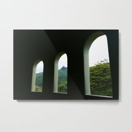 El Yunque from the Lookout Tower Metal Print