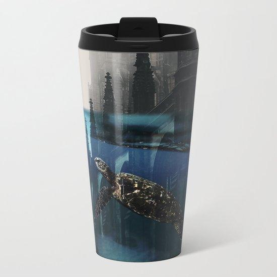 City under water Metal Travel Mug