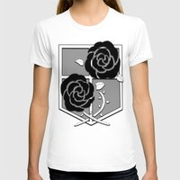attack on titan T-shirts featuring Attack on Titan Stationary Guard by InVERT1X