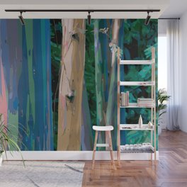 Rainbow Forest Wall Mural
