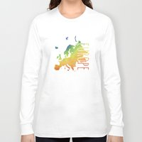 europe Long Sleeve T-shirts featuring Europe by Stephanie Wittenburg