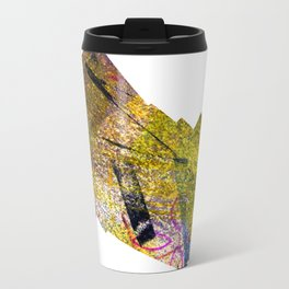 Wiggle Worm Metal Travel Mug
