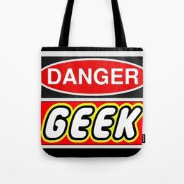 Danger Geek by Chillee Wilson Tote Bag