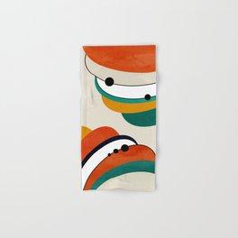 Mid Century Modern Space 73 Hand & Bath Towel