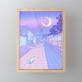 Kyoto Nights Framed Mini Art Print