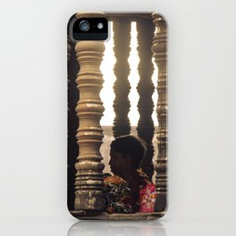 Hanuman in Angkor iPhone Case