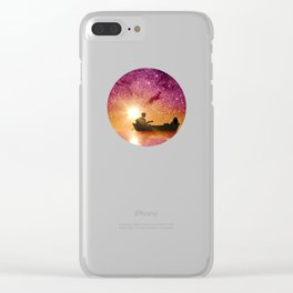 Serenade in the night Clear iPhone Case