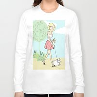 icecream Long Sleeve T-shirts featuring Icecream by Marisa Marín