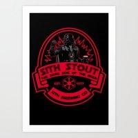 sith Art Prints featuring Sith Stout by CarloJ1956