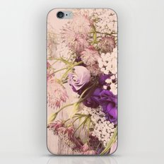 Gorgeous Vintage Floral iPhone & iPod Skin