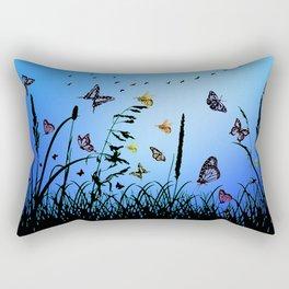 Alice`s garden 3 Rectangular Pillow