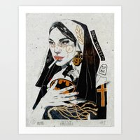Holy Smokes! Art Print