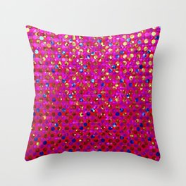 Polkadots Jewels G216 Throw Pillow