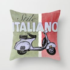 Stile Italiano Throw Pillow