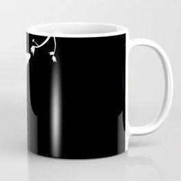 Giraffe reaching for leaves Coffee Mug