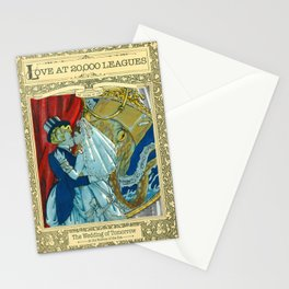 Love at 20000 Leagues Stationery Cards
