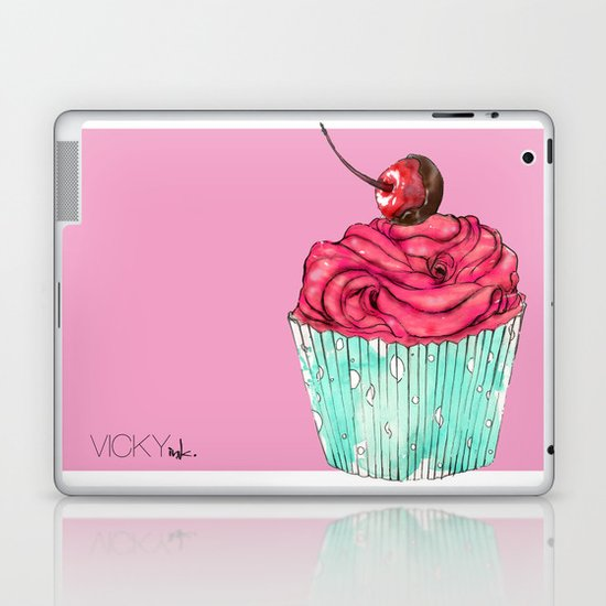 Creative Cupcake... Laptop & iPad Skin