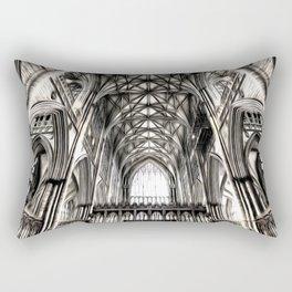 York Minster Art Rectangular Pillow