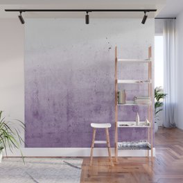 Radiant Orchid Purple Ombre  Wall Mural