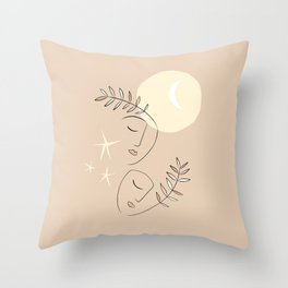 two-gether forever #togetherness  Throw Pillow