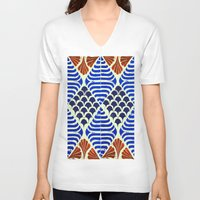 florence V-neck T-shirts featuring Florence  by Indigo Images