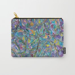 Traffic Jam #OilPainting #Abstract Carry-All Pouch