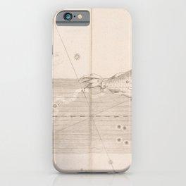 Johann Bayer - Uranometria / Measuring the Heavens (1661) - 31 Pisces / Fish iPhone Case
