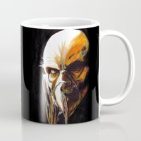 satan Mugs featuring Dr. Satan by Zombie Rust
