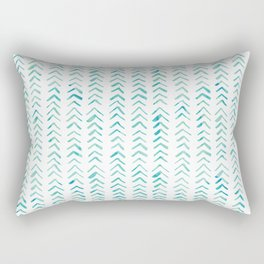 Arrow up aquatica pattern Rectangular Pillow